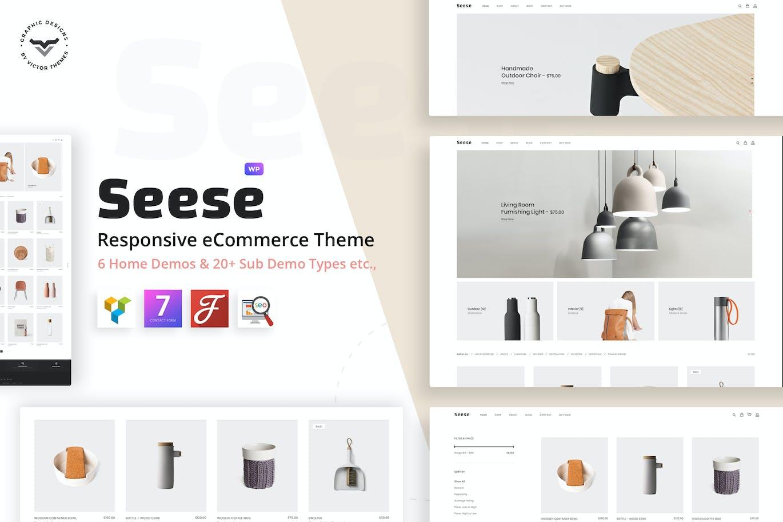 Seese - Responsive eCommerce Theme