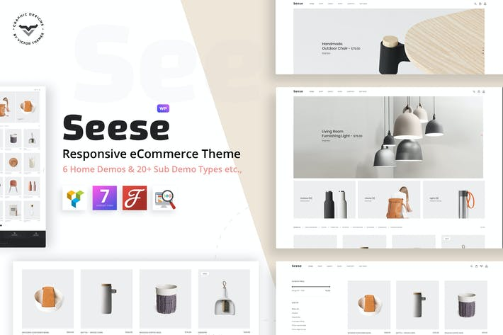 Cover Image For Seese - Responsive eCommerce Theme