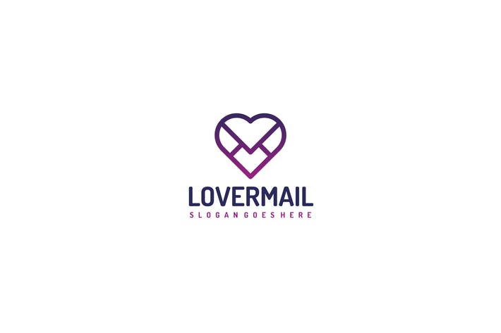 Thumbnail for Logo Love Mail