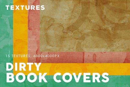 Dirty Book Cover Texturen