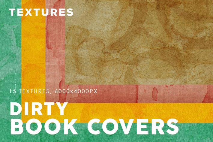 Thumbnail for Dirty Book Cover Textures