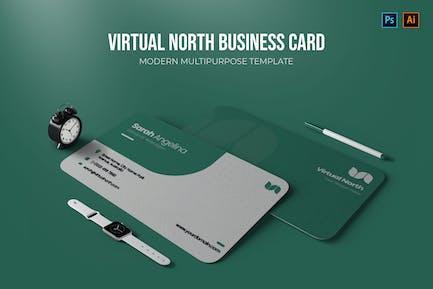 Virtual North - Carte de visite