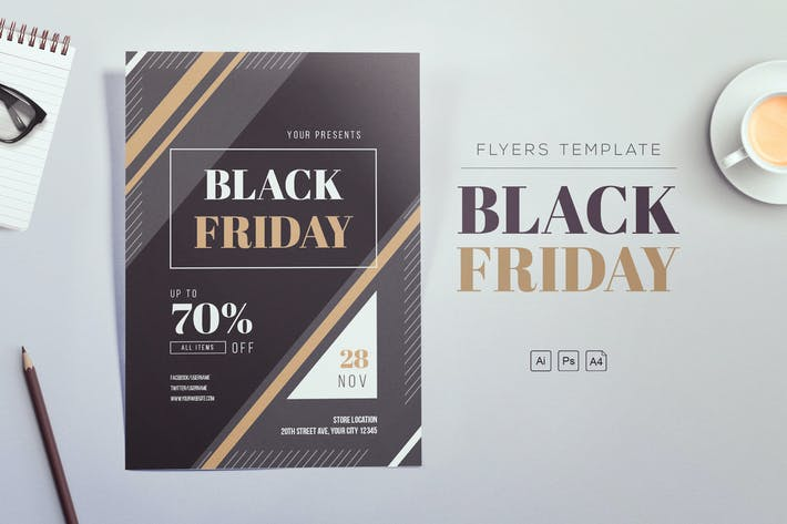 Thumbnail for Black Friday 2018 Flyers