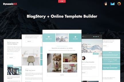 BlogStory - Responsive Blogger Email Template