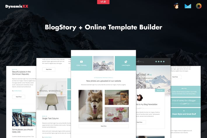 Cover Image For BlogStory - Responsive Blogger Email Template