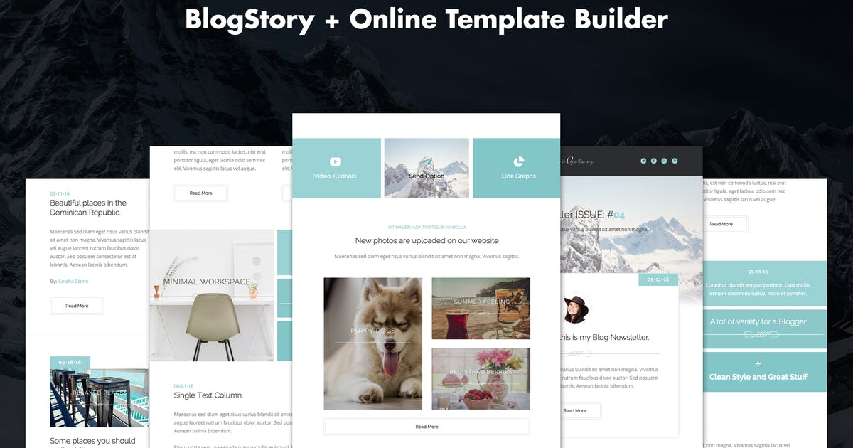 Download BlogStory - Responsive Blogger Email Template by DynamicXX