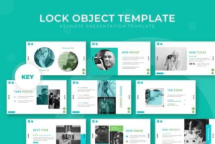 Lock Object - Keynote Template