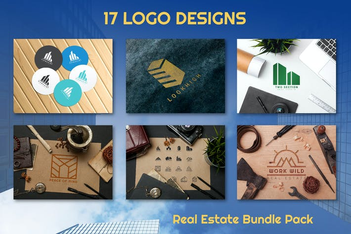 Thumbnail for 17 Real Estate Logo