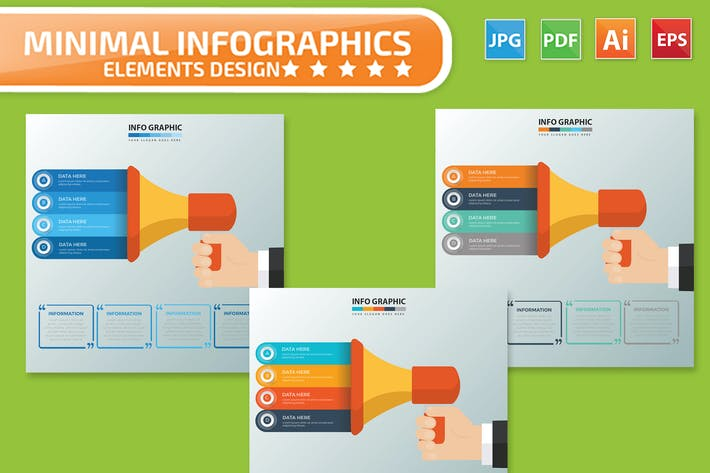 Cover Image For Megaphone Infographics
