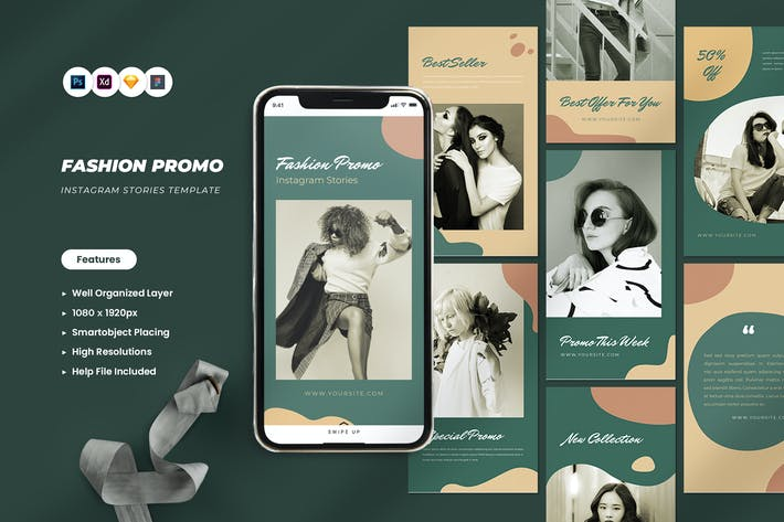 Fashion Promo Instagram Stories