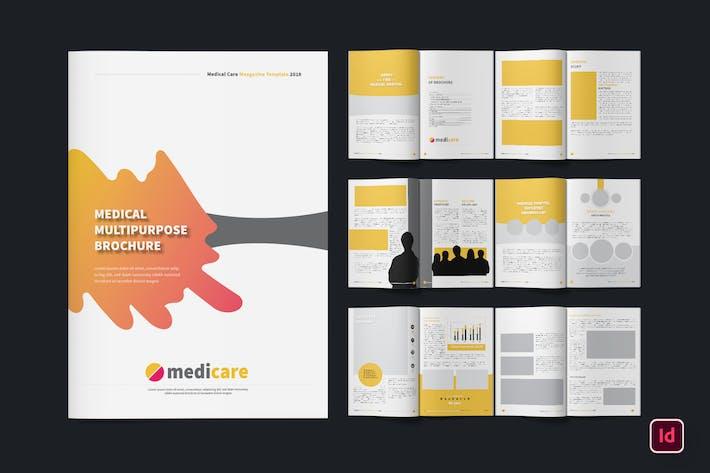 Thumbnail for Medical Clinic Creative Brochure Magazine