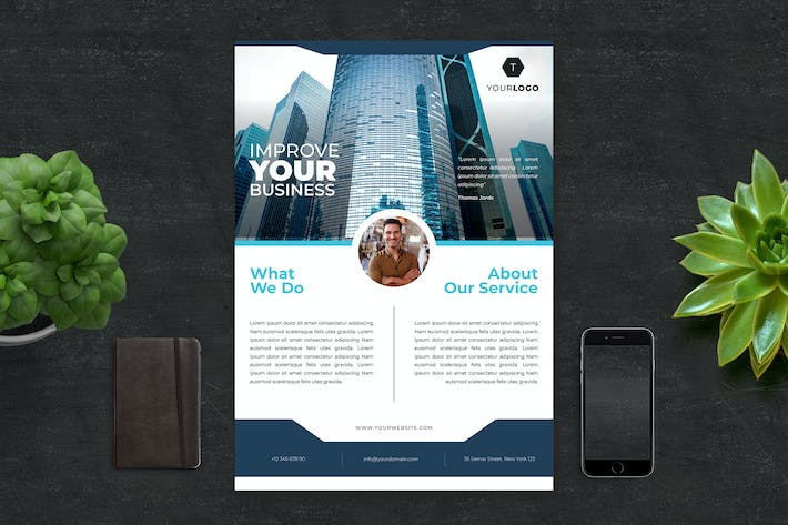 Thumbnail for Corporate Flyer Template