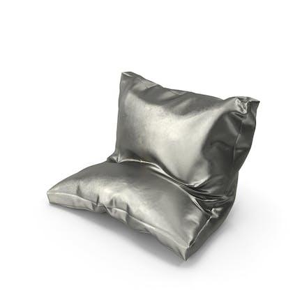 Leaning Pillow Metallic