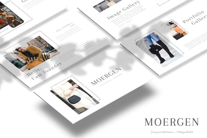 Thumbnail for Moergen - Keynote Template