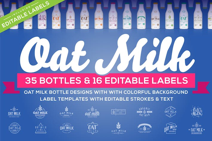 Thumbnail for Awesome Oat Milk Product Designs