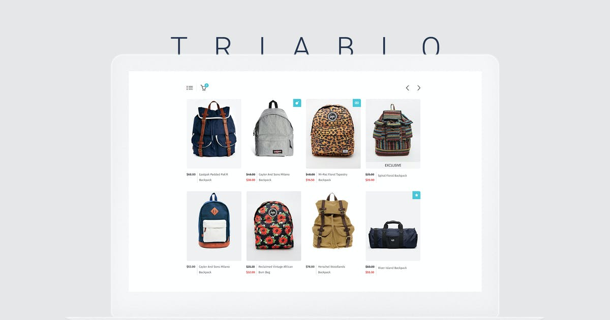 Download Triablo - eCommerce Landing Page by vsart