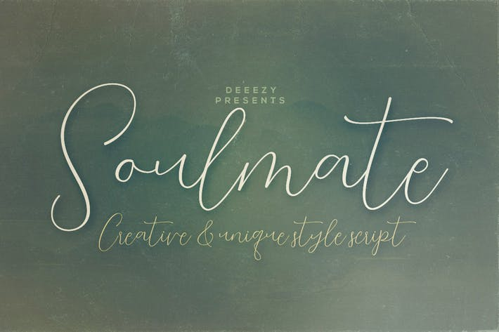 Cover Image For Soulmate Script Font