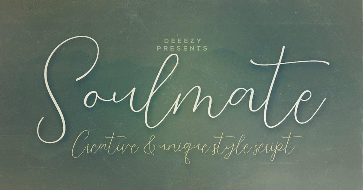 Download Soulmate Script Font by cruzine