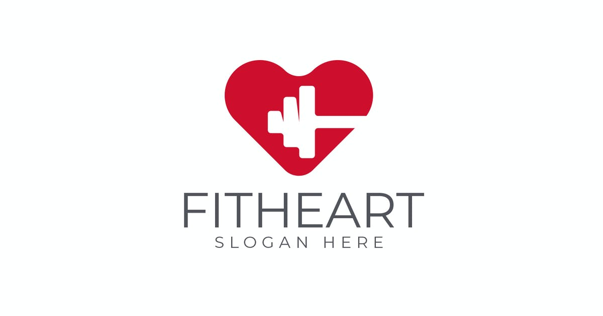 Download Fit Heart - Health and Medical Care Logo by Suhandi