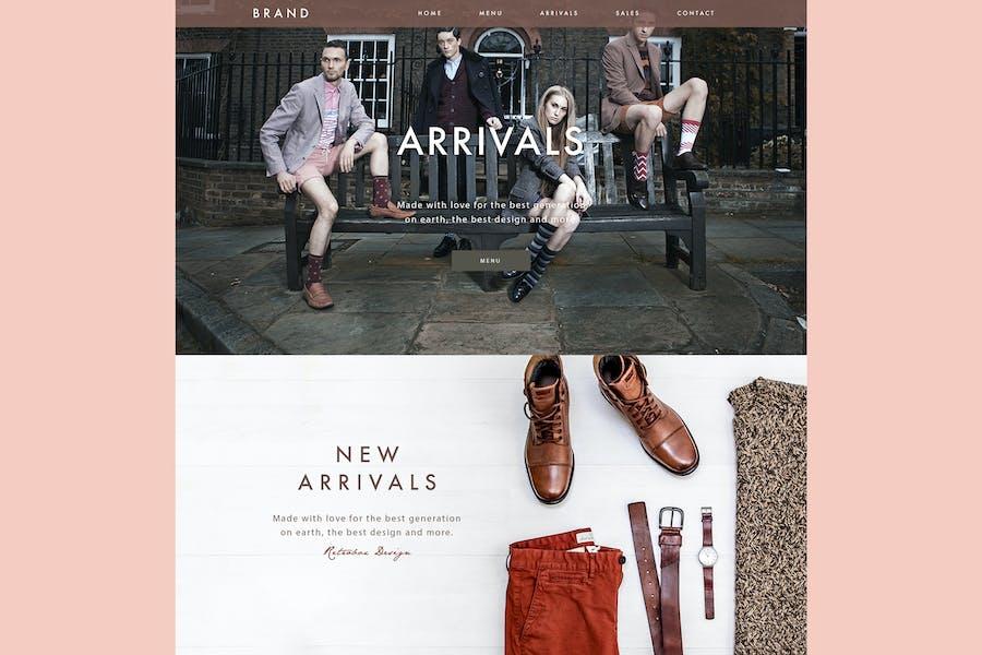 Clothing Brand Website
