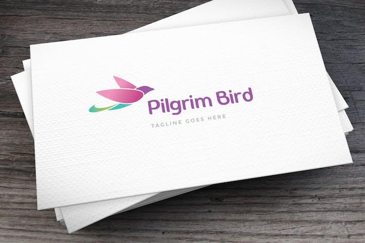 Thumbnail for Pilgrim Bird Logo Template