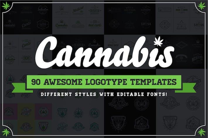 Cannabis Logotype Templates
