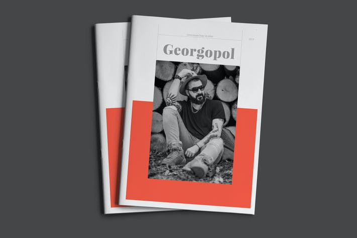 Thumbnail for Georgopol - Look book  Business Corporate