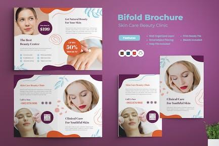 Skin Care Beauty Clinic Bifold Brochure