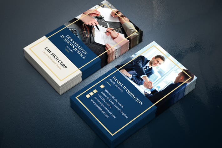 Thumbnail for Business Card – Law Firm Vertical