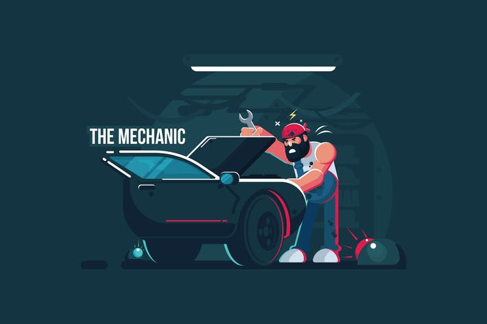 Thumbnail for The Mechanic - Vector Activity