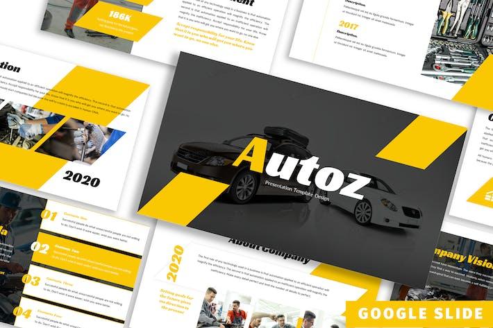Thumbnail for Autoz - Business Google Slide Template