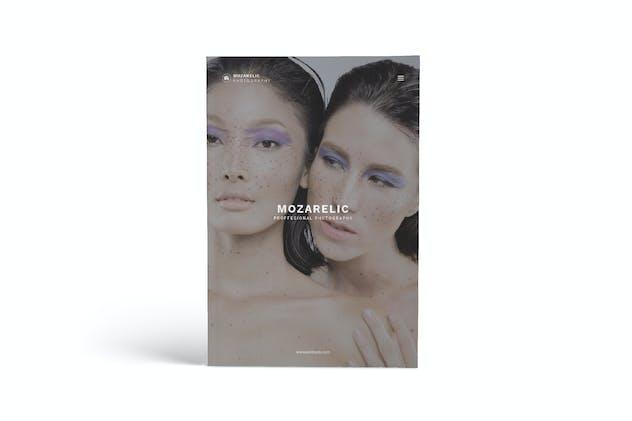 Mozarelic Photography A4 Brochure