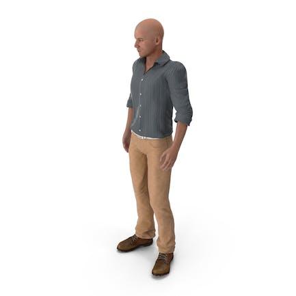 Hombre de pie
