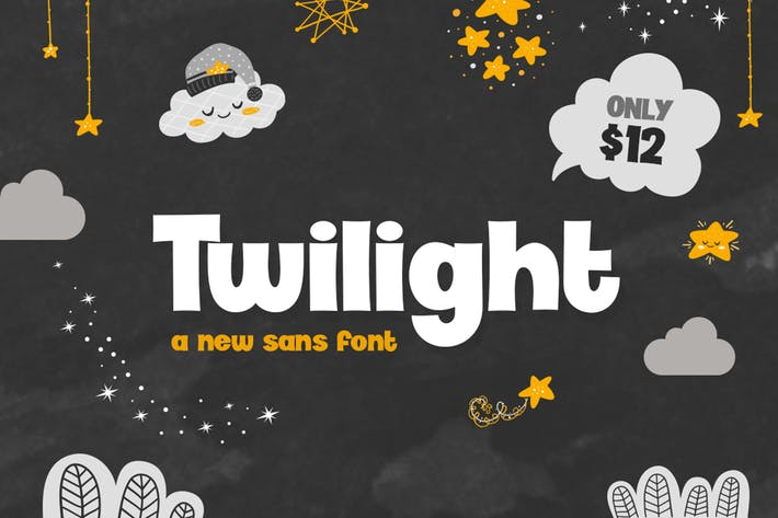 Thumbnail for Twilight Font