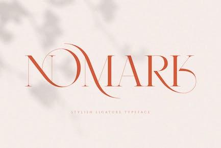 NOMARK - Ligature Typeface