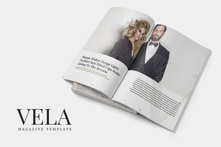 Thumbnail for Vela Magazine Template