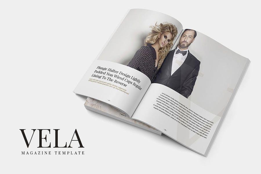Vela Magazine Template