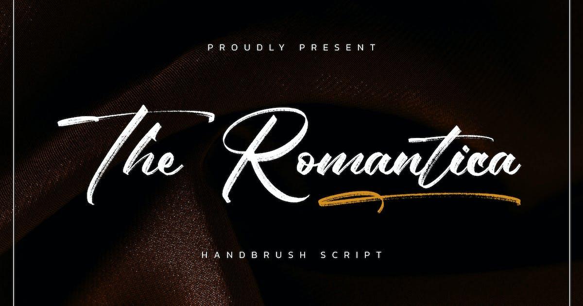 Download The Romantica - Handbrush Script by Alterzone