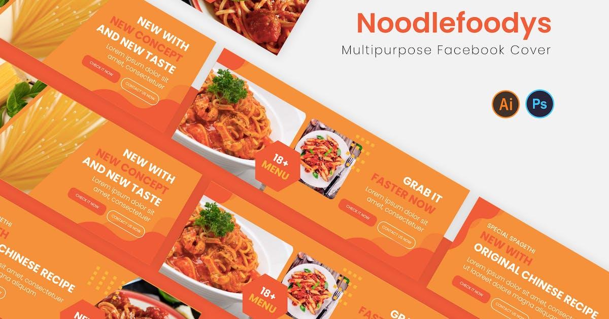 Download Noodlefoodys Facebook Cover by karkunstudio