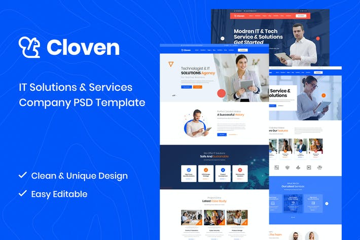 Cloven - PSD-Vorlage für IT-Lösungen und Dienstleistungen