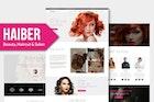 Haiber - Beauty & Make-up Muse Template YR