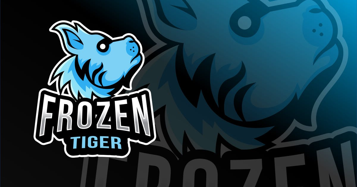 Download Frozen Tiger Esport Logo Template by IanMikraz
