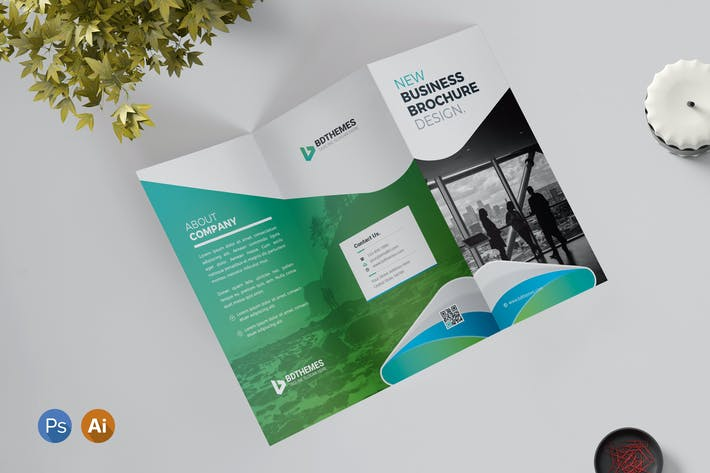 Thumbnail for Tri Fold Brochure Template 02