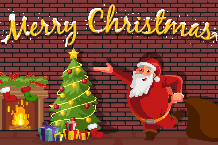 Thumbnail for Santa Claus Celebrating Christmas
