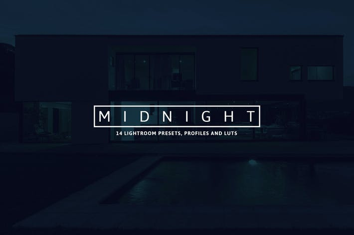 Cover Image For 14 Midnight Lightroom Presets, Profiles and LUTs