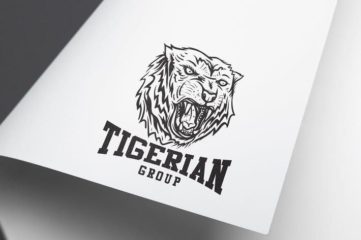 Cover Image For Tiger Logo