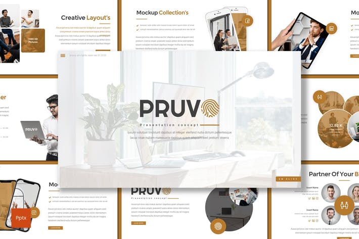 Thumbnail for Pruvo - Business Powerpoint Template