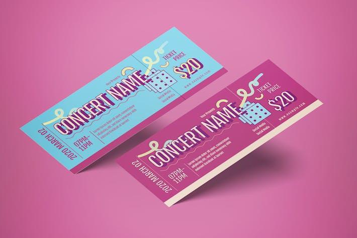 Konzert-Ticket