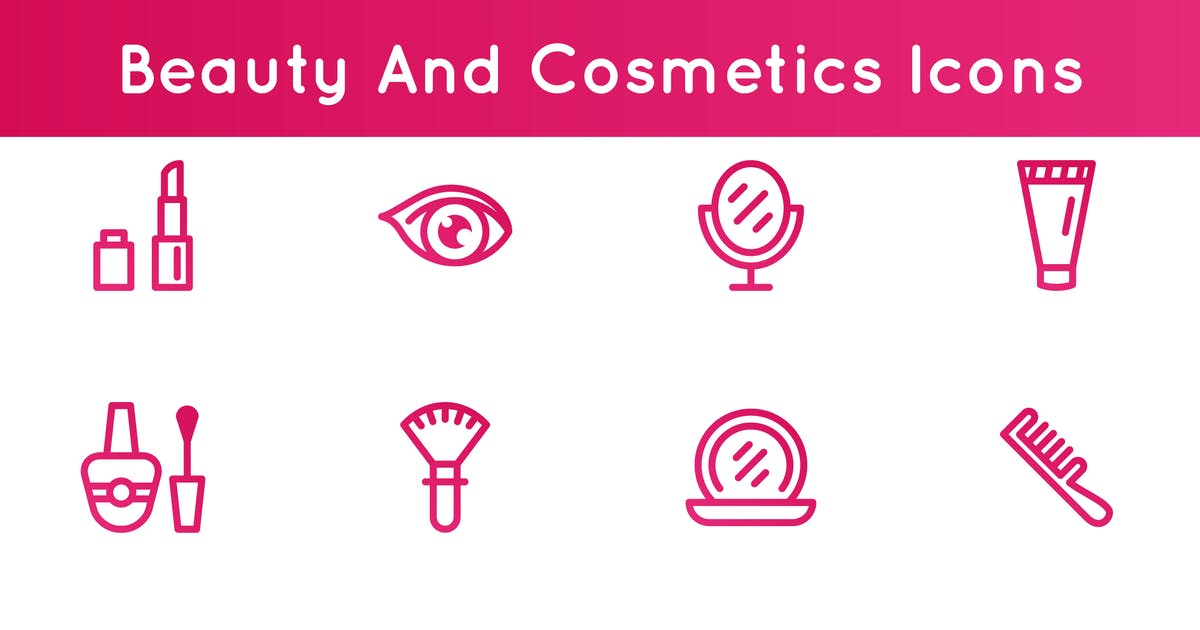 Download Beauty And Cosmetics Icons by 3ab2ou