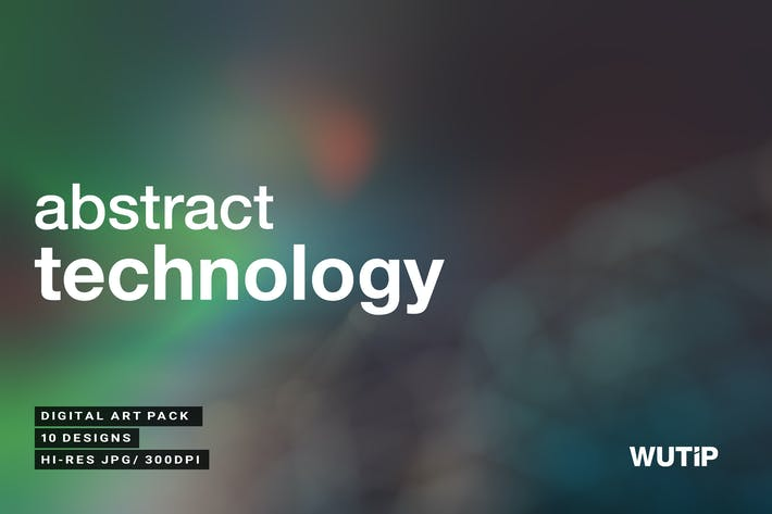 Cover Image For Abstract Technology Backgrounds